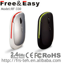 cheapest price slim wireless flat mouse