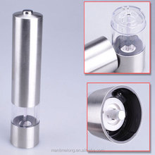 Stainless Steel electric salt and pepper grinder salt and pepper grinder set salt and pepper grinder wholesale