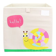 Cheap Kids Toy Boxes Fabric Storage Cube Wholesale Cute Storage Containers