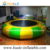 Huale colorful funny jumping game inflatable water trampoline