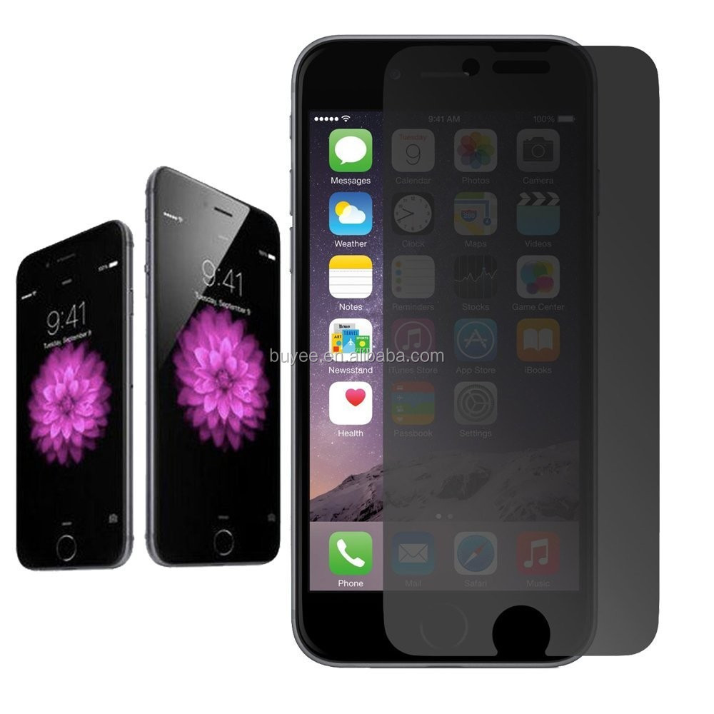 Electric privacy Screen Tempered Glass Film for iPhone 6 6s Privacy Filter screen