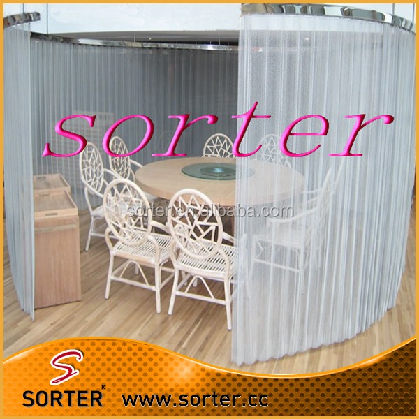 metal woven wire mesh for office partition