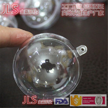 Dia40MM to 200MM Clear Plastic Ball Fillable Ornament wholesale