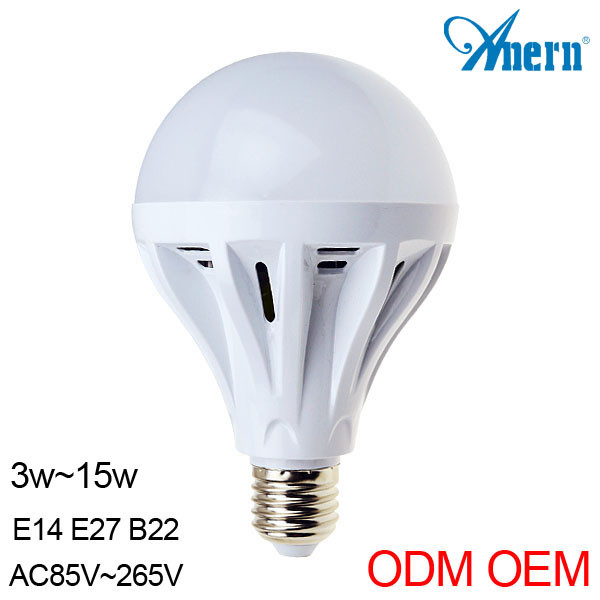 Alibaba golden supplier CE RoHS passed 7W e27 low heat no uv led light bulb
