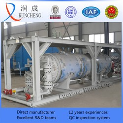 ASME pressure vessel shell tube heat exchanger stainless steel tubular heat exchanger price