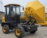 FCY30R 3ton site dumper dumper truck price with rotary bucket