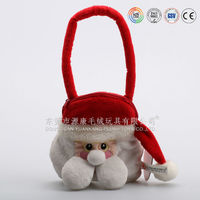 Christmas decoration & christmas tree decoration plush toys