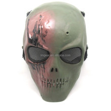 Brand New Airsoft Paintball Tactical Full Face Protection Skull Mask Army Outdoor Skull Mask Paty Mask