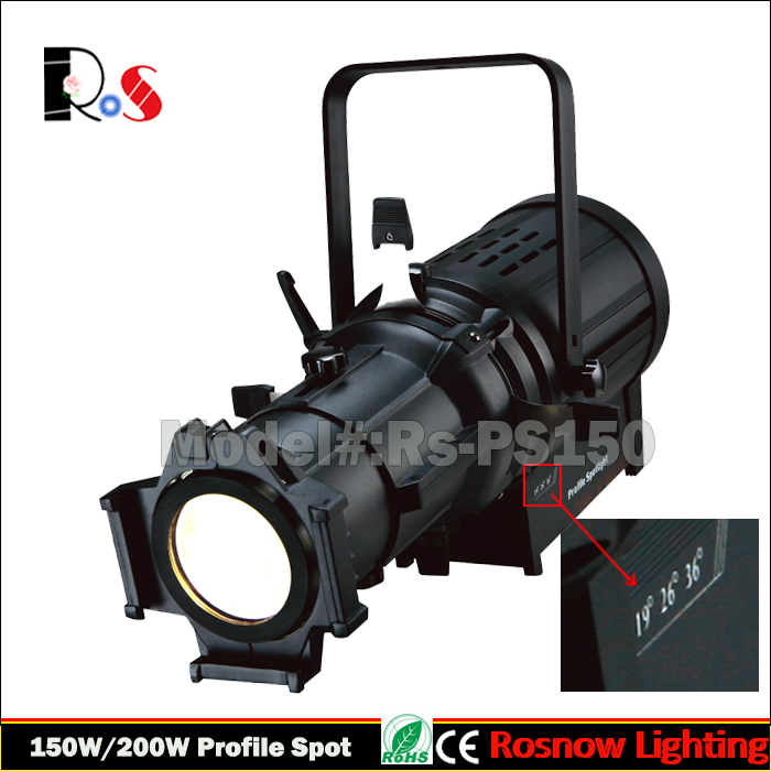 wedding DJ lighting fixtures DMX led stage profile light spot