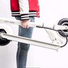 JOYOR New model light stand up carbon kick electric scooter