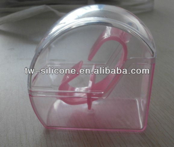 Funky ABS Plastic Transparent Watch Box