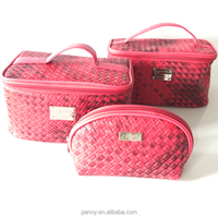 Fashion Pu Cosmetic Travel Bag Custom