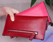online shopping money carrying case ladies leather wallet with change purse