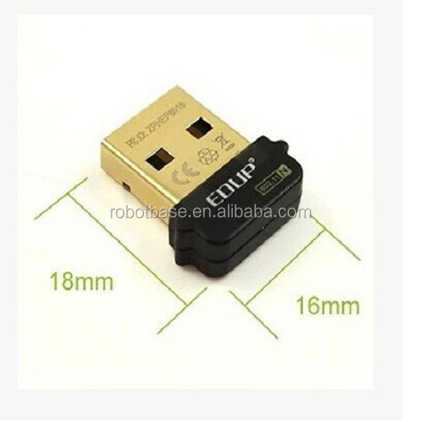Mini USB 150Mbps 802.11n wifi Adapter wireless Network for Raspberry Pi