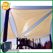 plastic 100% HDPE waterproof shade sailin china