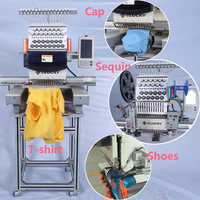 15 Colors Single head Similar Used Tajima Embroidery machine price on sale