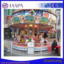 New Outdoor Atraction Rides For Parkcarousel Horses Merry Go Round Sale