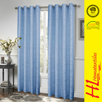 BSCI certification wholesale ready made guipure curtain