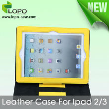 Sublimation Case for ipad2/3/4(made of canvas&leather,which can show your personality greatly)