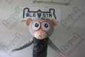 hot sale monkey mascot head