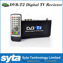 Car digital dvb t2 mobile tv receiver with high definition and customer's favorable comment-Made in China shenzhen