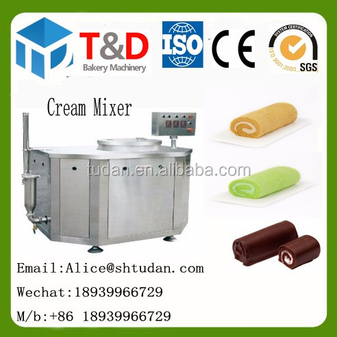 T&D Bakery machine --China factory supplier High quality bakery mixing machine mixer machine for bakery 80L sponge cake mix