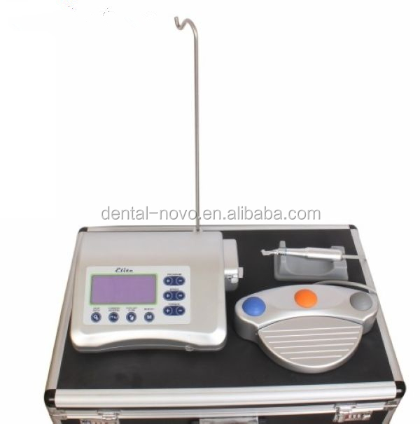 IM-002 Dental Implant equipment with LCD display, control panel and multifunctional foot switch