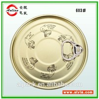 Tinplate Material and Seed,food Use vegetable seed packing #401(99mm) EOE of Tin container