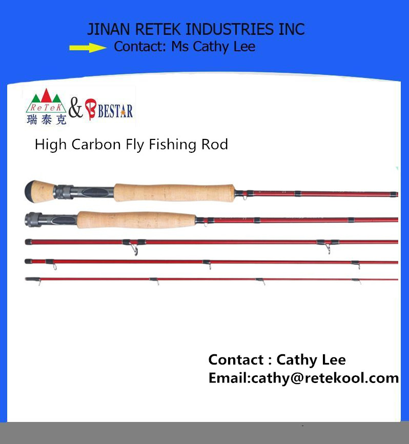 High Carbon Fly Fishing Rod