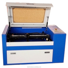 50w 60w portable small laser engraving machine 350 for plywood Ruida board