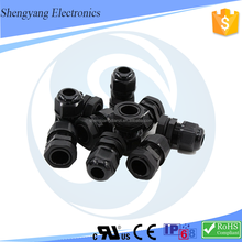 PG7 PG 48 plastic waterproof IP68 pipe fittings cable gland