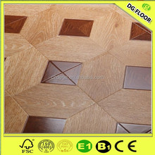 Wooden Laminate Mosaic Parquet Made in Germany Arc-click Laminate Floor