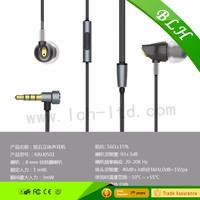 Zircon Stereo Wired Earphones with Microphone and Volume Control 3.5mm for Mobile phone