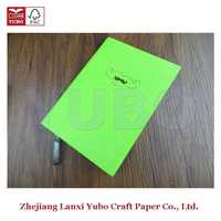 YB-1162 Yubo 2017 PU Leather Cloth Cover Diary a4 thermal binding covers