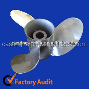 stainless steel propeller for Marine hardware