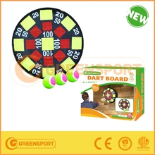 inflatable dart board with polybag or color box packing
