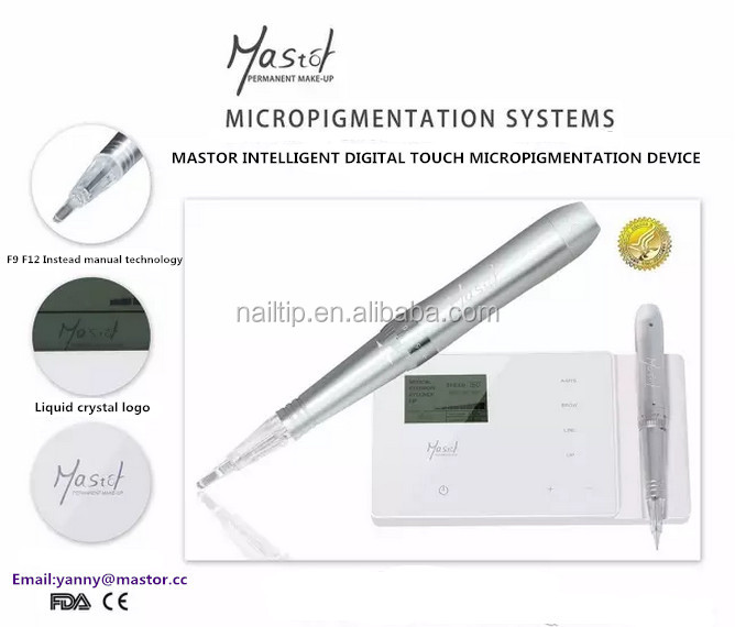 Mastor Permanent Makeup Digital touch screen eyebrow hotsales tattoo machine