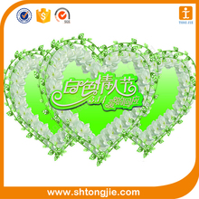 High Quality Happy Birthday Heart Shaped Sticker