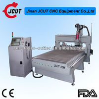 High Efficiency Chinese good quality hot sale High Precision 2014 Upgarde New Type ATC cnc wood JCUT- 25H (with 8 Knives Stores)