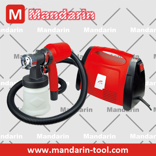 Floor based paint sprayer 800W HVLP type