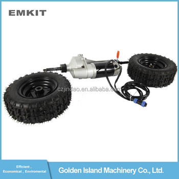 24V 500W transmission electric motor driving rear axle