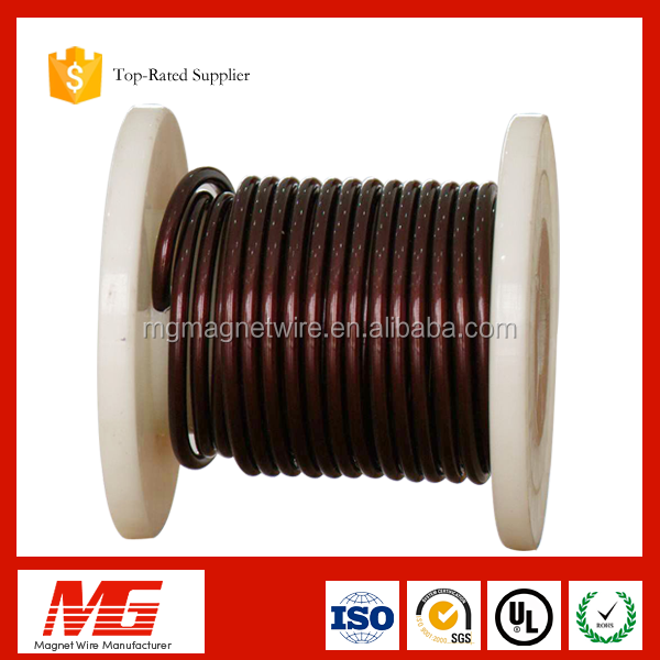 14 15 16 17 18 awg gauge 2.5mm wooden spool bobbin cover enameled aluminum wire