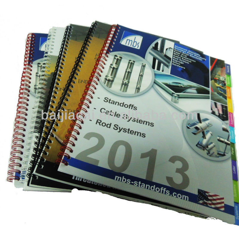 Catalog/manual/booklet/leaflet OEM pantone color printing service