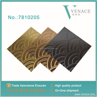 3D Decorative Material Wave Pattern Wall Board With Good price