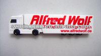 Quality Products Custom PVC Bus Shape USB Disk Driver