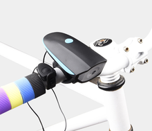USB Rechargeable Electric Horn/Bicycle Parts/Electric Bell with Light