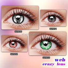 Circle eye two tone iris color contact lens