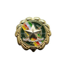 Wholesale High Quality Custom Collar Star 3D Metal Pin Badges