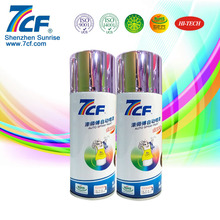 Shenzhen Rainbow 7CF Chrome Finish Spray Paint