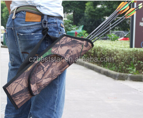 Waterproof Camouflage Bionic Camo Bow Bag/Pouch Arrow Quiver Archery
